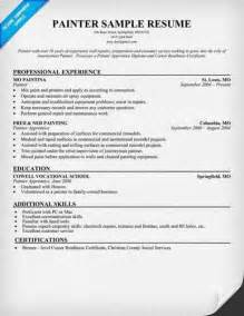 Professional Painter Cover Letter by Best Format House Painter Resume Slebusinessresume Slebusinessresume