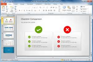 Powerpoint Comparison Template by Best Comparison Chart Templates For Powerpoint