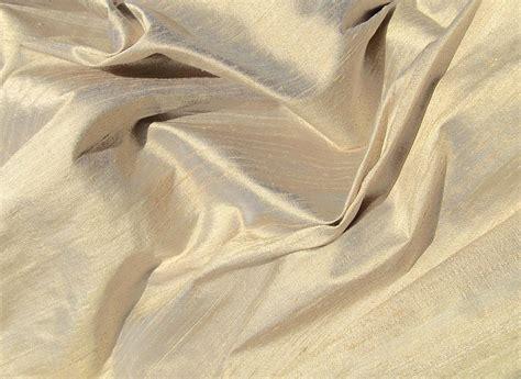 silk upholstery chagne gold iridescent dupioni silk fabric chadquilt