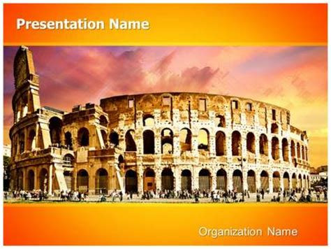 rome themes powerpoint ancient rome powerpoint template background