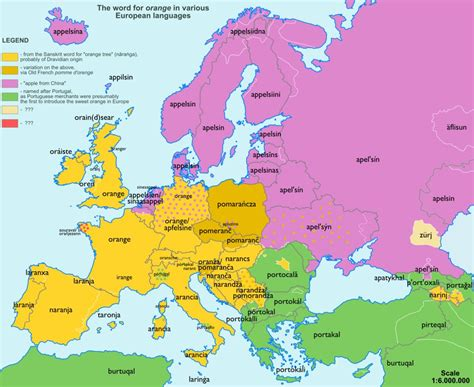 show the map of europe these fascinating maps show the origin of words we use all