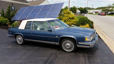 1988 cadillac coupe 1988 cadillac coupe de ville 80 600 original