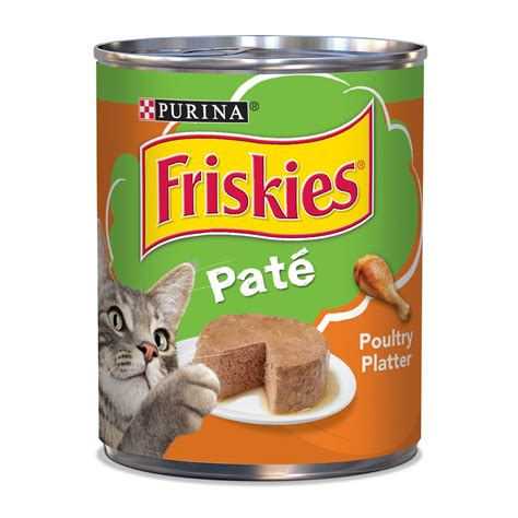 Cat Co Food friskies poultry platter canned cat food petco