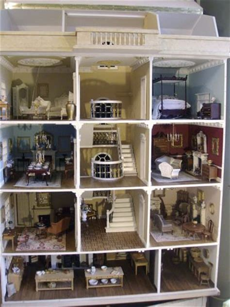 huge doll houses details about huge private collection british artisan high end collectors doll house