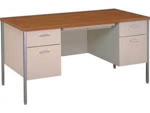 steel executive pedestal teachers desk 60 quot x30