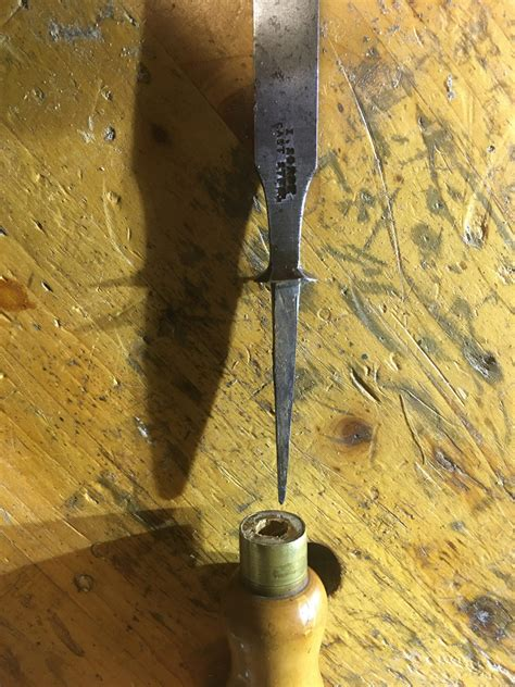 reattach chisel handle woodworking masterclasses