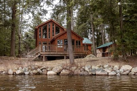 New York State Cabin Rentals On Lake by Charming Cabin Situated On Lake In The