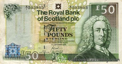 the royal bank of scotland plc the royal bank of scotland plc 50 pounds exchange yours