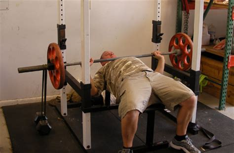 benching with bands bench press with bands using power rack chest exercise