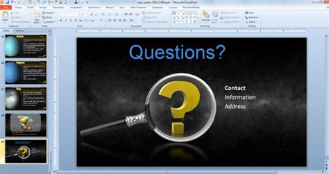 powerpoint questions and answers template quotes to end a powerpoint quotesgram