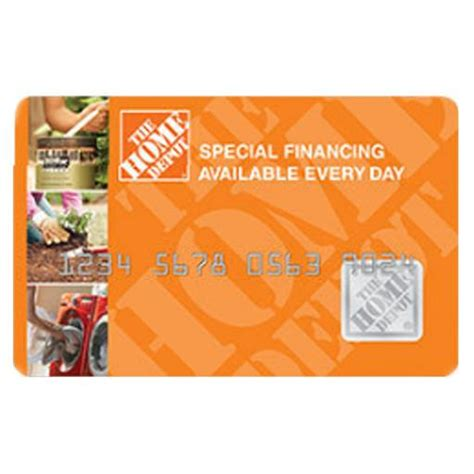 the home depot consumer credit card review