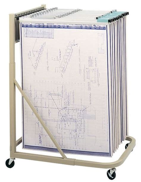Safco Blueprint Rack by Safco Plan Rack 5026 Blueprint Rack S Hangers Holds 12