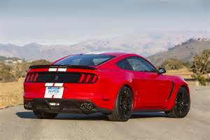 Ford Gt350 2016 Ford Shelby Gt350 Mustang Test Review