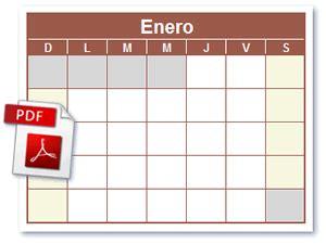 machote calendario 2016 plantillas de calendario y horario
