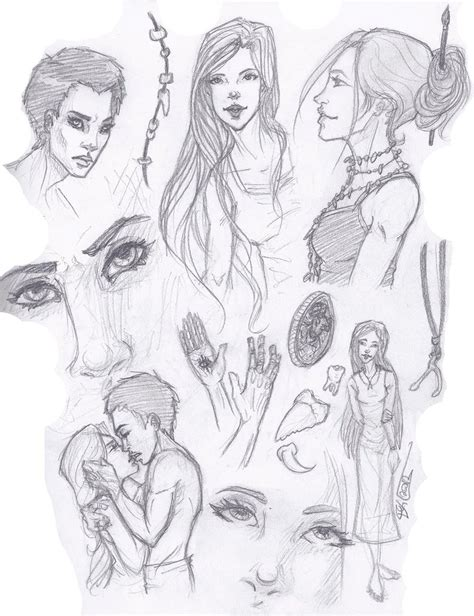 Sketches 4 Daughters sketches by commanderkip on deviantart