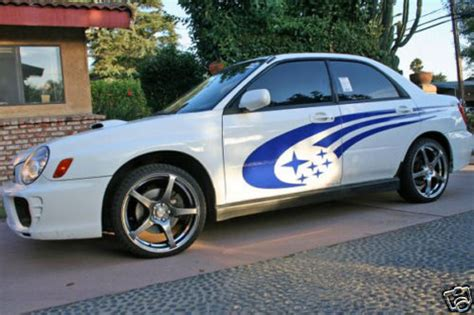 subaru legacy decals product subaru impreza sti wrx legacy side panel stripes