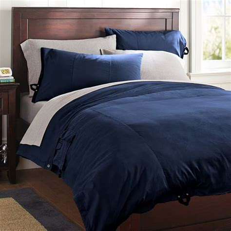 Navy Duvet Cover classic metro duvet cover pillowcase navy pbteen
