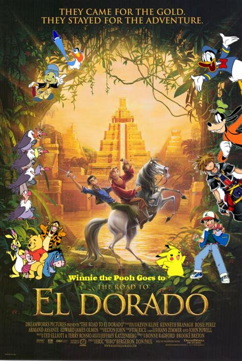 the story of el dorado books winnie the pooh goes to the road to el dorado pooh s