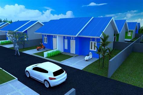gambar desain rumah type  perumahan tanah merah residance rumah murah samarinda