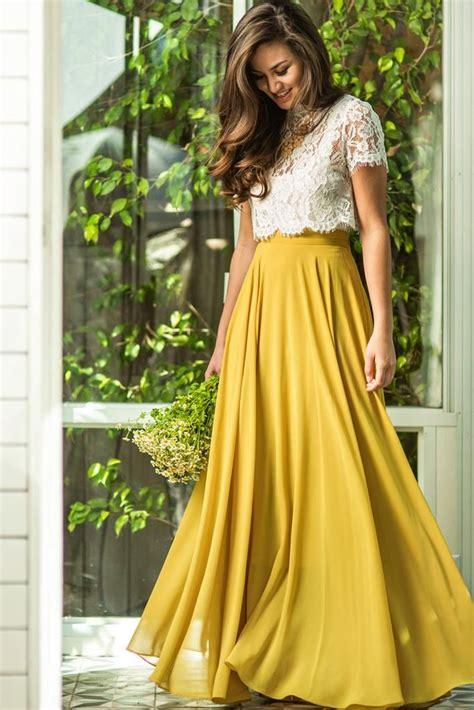Best 25  Wedding guest maxi skirts ideas on Pinterest   Skirt for wedding guest, Dressy maxi