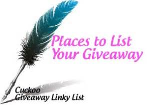 Giveaway Linky List - giveaway linkys list coupons