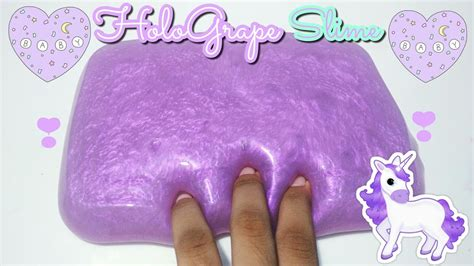 membuat slime jelly hologrape slime tutorial super cute slime like a jelly