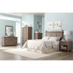 Walmart Bedroom Furniture Sets Sauder Harbor View 6 Bedroom Set Salt Oak