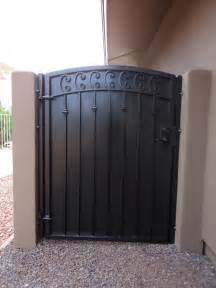 custom made gate that matches security door by dcs