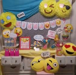 southern blue celebrations emoji party ideas