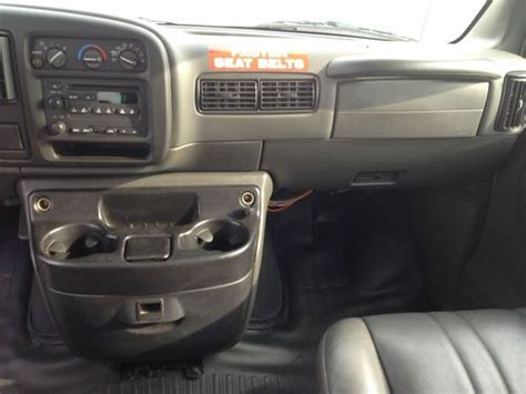 auto air conditioning repair 2002 gmc savana 3500 seat position control sell used 2002 gmc savana 2500 9 passenger van 5 7 v8 gas motor auto trans ice cold air in west