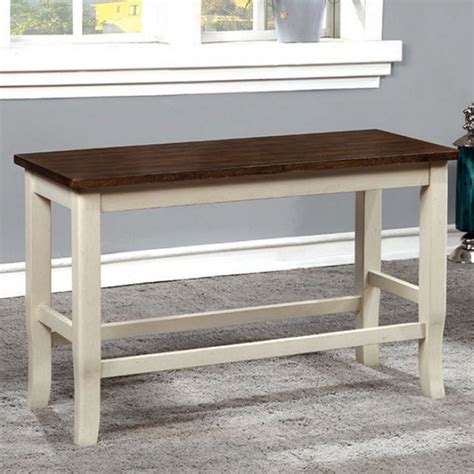 counter height table with bench 24 quot dover ii counter height bench
