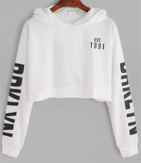 Sweater Crop Hoodie sweater white crop tops cropped hoodie black wheretoget