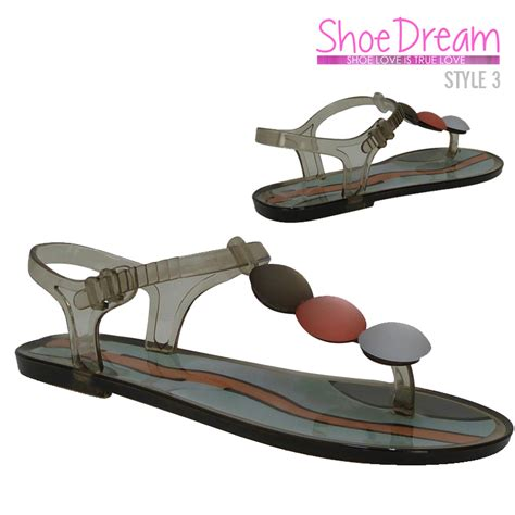 grey jelly sandals sandals