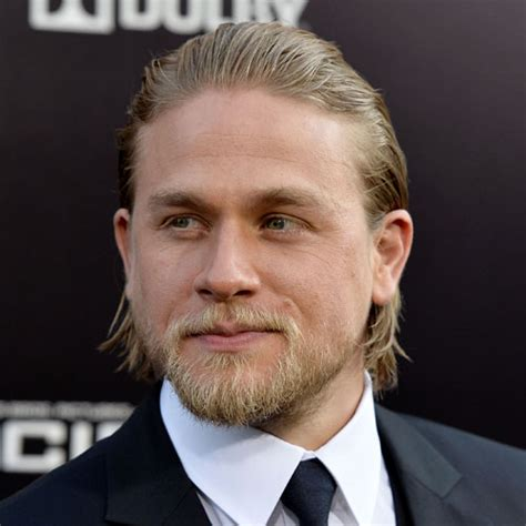 charlie hunnam on hair maintenance jax teller hair