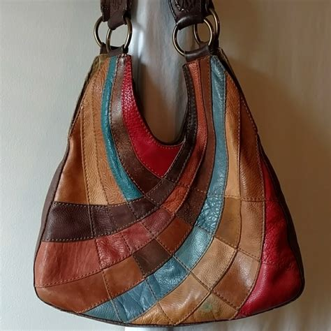 Lucky Brand Patchwork Hobo - 75 lucky brand handbags lucky brand vintage