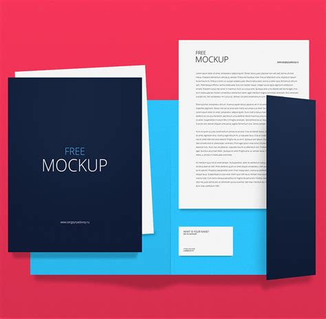 mockup templates free corporate identity branding stationery mockup template psd