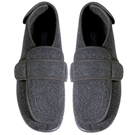 Slippers 12 Additional foamtreads physician foamtreads s depth wool slippers charcoal 12 w us price