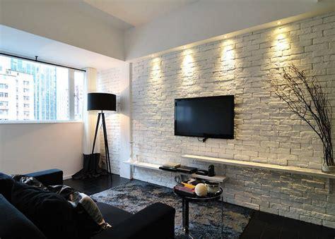 living room structure design wall brickwork design ideas for modern living spaces interior
