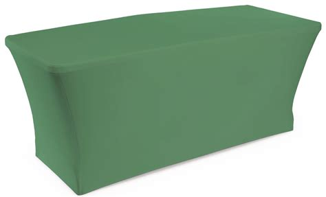 Green Stretch Table Cover For Portable Counters At Trade Show Trade Show Table Cover
