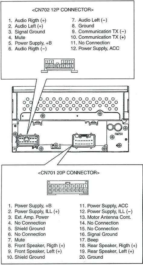 diagram toyota tundra speaker wiring diagram