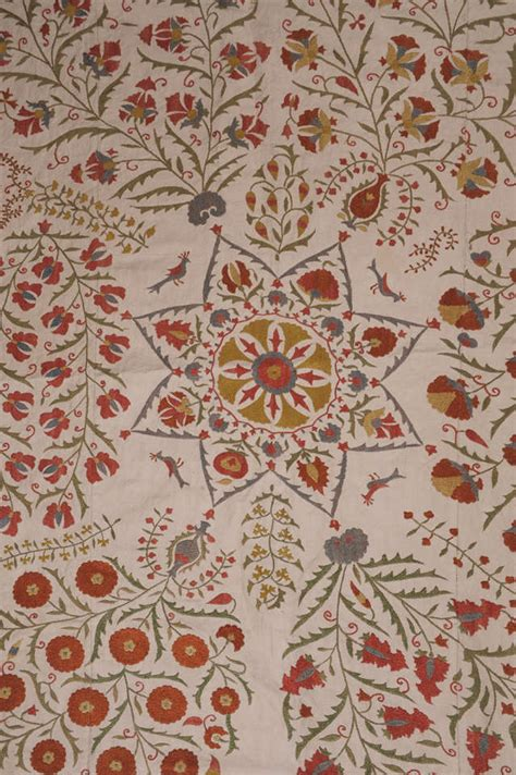 suzani coverlet antique suzani embroidered coverlet at 1stdibs