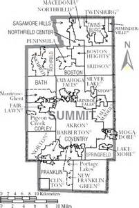 Map Of Summit County Ohio by File Map Of Summit County Ohio With Municipal And Township