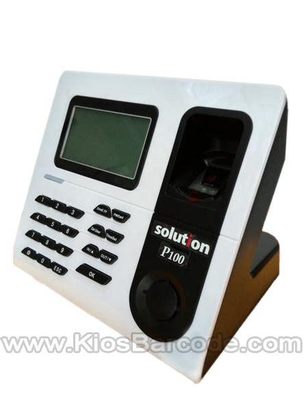 Baterai Finger Print Fingerprint Solution P 100 Kios Barcode