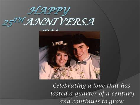 Wedding Anniversary Slideshow Ideas by Susan S 25th Wedding Anniversary