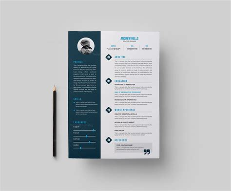 Resume Style Templates by Resume Template With Style 000377 Template Catalog