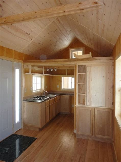 pics inside 14x32 house derksen cabin finished interior joy studio design