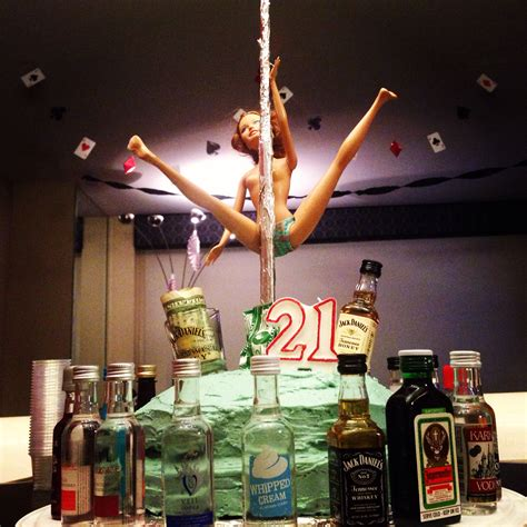 21st birthday themes list for guys little brothers 21st birthday cake we likes to party