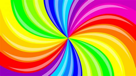 colorful background colorful background rainbow that rotating spiral 2d