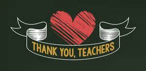 thank you teachers project teaching with