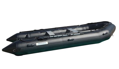 military rubber boat 14 ft inflatable boat pro heavy duty military black